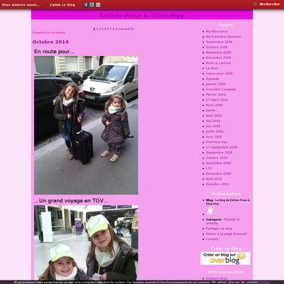 Le blog de Esther-Rose & Elisa-May