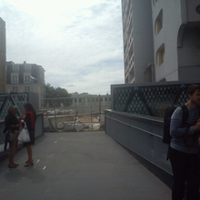 Beaugrenelle : inauguration d'une « passerelle » vers … nulle part