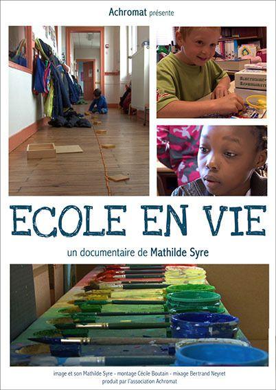Ecole en vie, le jeudi 13 octobre à 20h aux Landagnes à Ecole