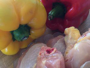 Poulet aux poivrons du Piémont