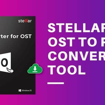 Stellar OST To PST Converter Tool [Best OST to PST Converter Online]