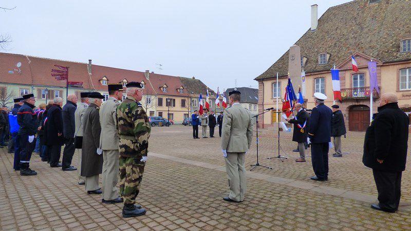 Cérémonie: 72 ème Anniversaire de la Libération de Neuf-Brisach