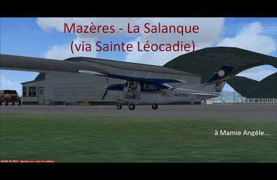 Mazères - La Salanque (via Sainte Léocadie)...