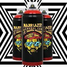 Major Lazer - Aerosol can (feat. Pharell Williams)