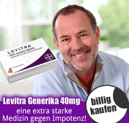 Levitra Generika kaufen ohne Rezept in Deutschland!