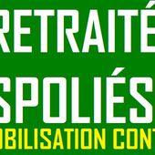 Nouvelles MOBILISATIONS des RETRAITÉS en JANVIER 2019
