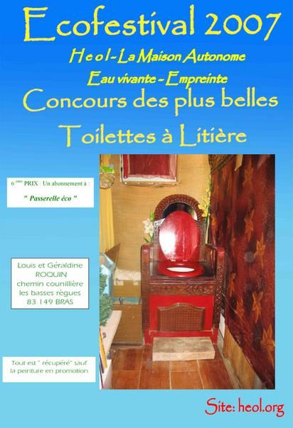 """&quot;<span style=""""font-weight: bold;"""">T</span>oilettes &agrave; <span style=""""font-weight: bold;"""">L</span>iti&egrave;re <span style=""""font-weight: bold;"""">B</span>iomaitris&eacute;e&quot;"""