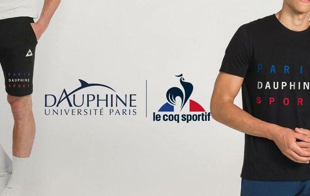 Co-branding : L'universite Paris-Dauphine et LE COQ SPORTIF