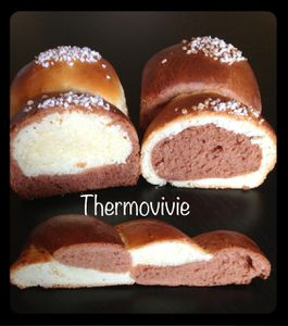 Brioche surprise au thermomix