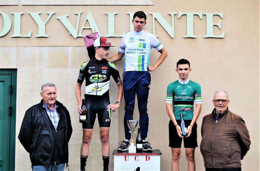 Prix de l'Hôpital le Mercier (71) - Victoire en solitaire de Mathias Sanlaville (Cours la Ville Cyclisme) par Daniel MORLEVAT
