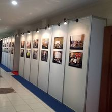 Partisi Pameran, Sewa Panel Foto, Partisi R8, Sewa Panel photo