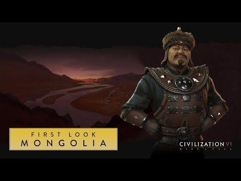 ACTUALITE : Gengis Khan règne sur la Mongolie dans #CivilizationVI #RiseandFall