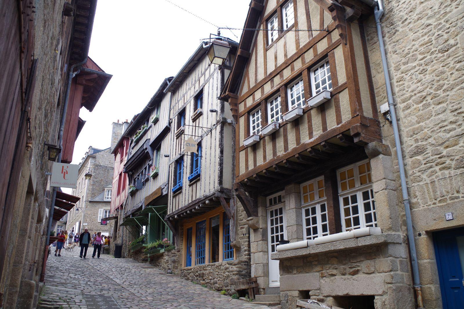 Rues du Jerzual et du Petit Fort