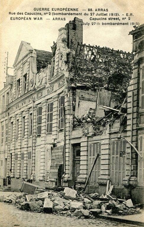 4 rue des Capucins. Oscar Pollet, architecte, 1922 - Cartes postales : collection privée. Cette maison a reçu le prix ASSEMCA 2020 pour sa rénovation.