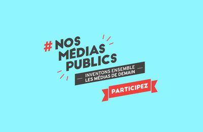 Lancement de la 2e consultation citoyenne des médias publics