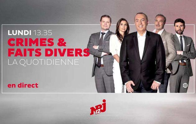 """Jonathann Daval pour la première fois face à la famille d'Alexia, en direct à 13h35 sur NRJ12 dans """"Crimes et Faits Divers : La quotidienne"""""""