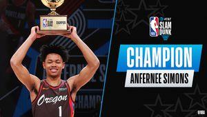 All-Star Game : Anfernee Simons remporte le concours de Dunks