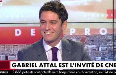 Le porte-parole du gouvernement, Gabriel Attal, pris en flagrant délit de mensonges sur CNews au sujet du taux de mortalité en Suède et du confinement (Vidéo)