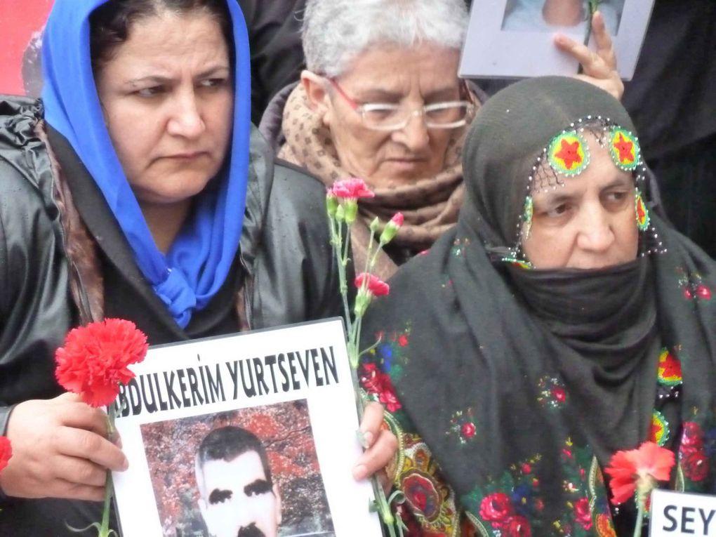 Hommage aux mères et proches de disparus