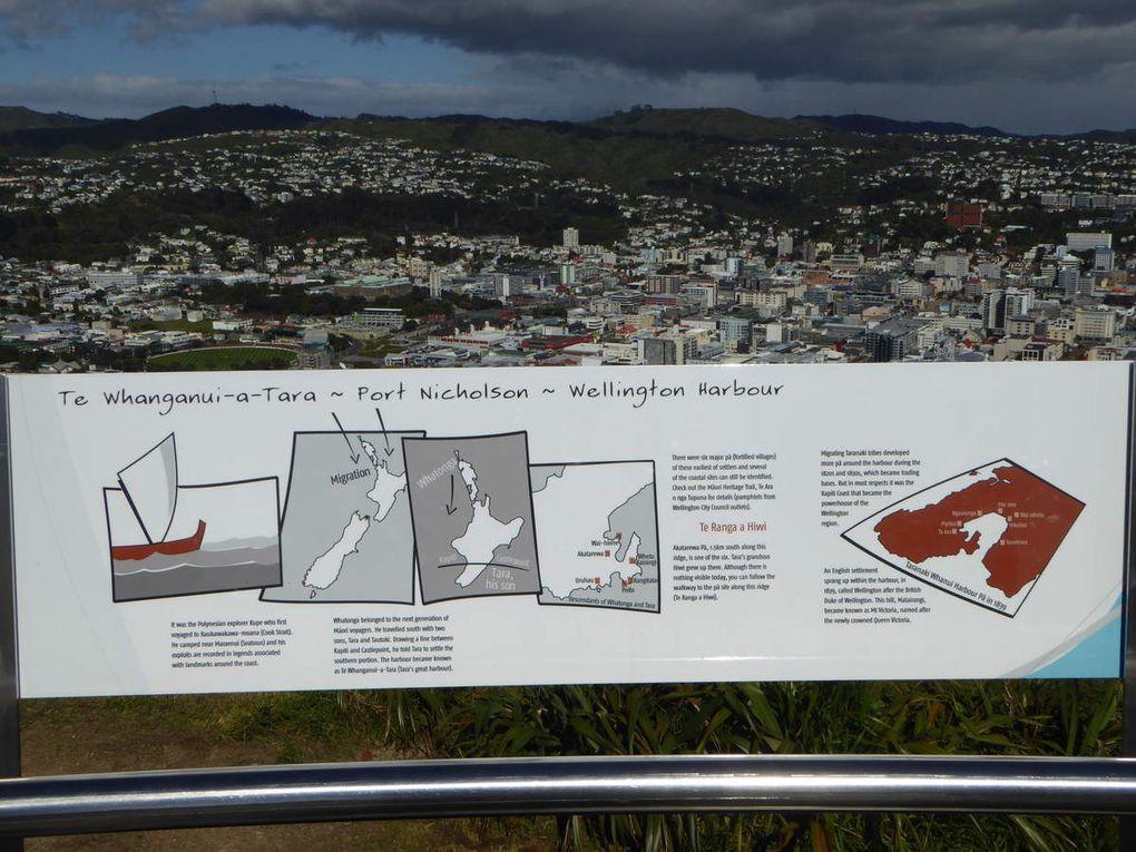 Wellington, Nouvelle Zélande - Jour 2 et 3