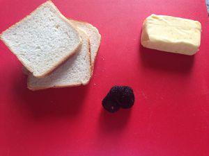 préparation des sandwichs à la truffe