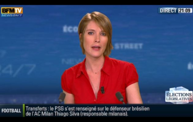 [2012 06 03] LUCIE NUTTIN - BFM TV - WEEK-END 360 @21H10