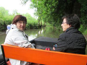 Voyage au fil de l'eau...... Vogue la gabare en Marais Poitevin.......