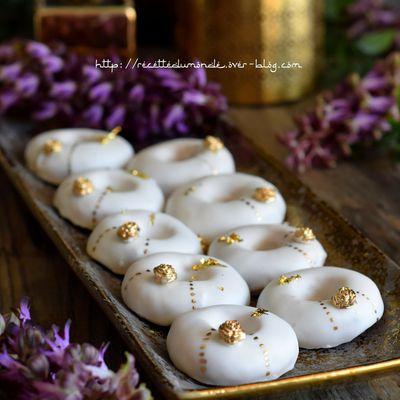 Couronnes glacées au citron - pâtisserie Aïd