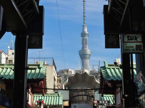 Tôkyô : Le quartier d'Asakusa 浅草, les charmes du vieux Tokyo