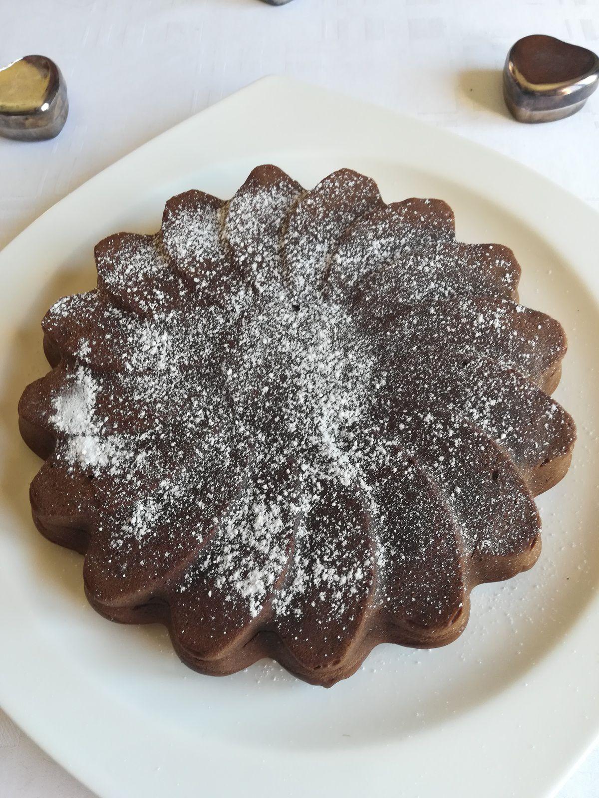Gâteau au chocolat et ricotta
