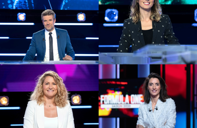 Le Sommaire du Canal Football Club, Canal Sport Club, Canal Rugby Club et Formula One du week-end
