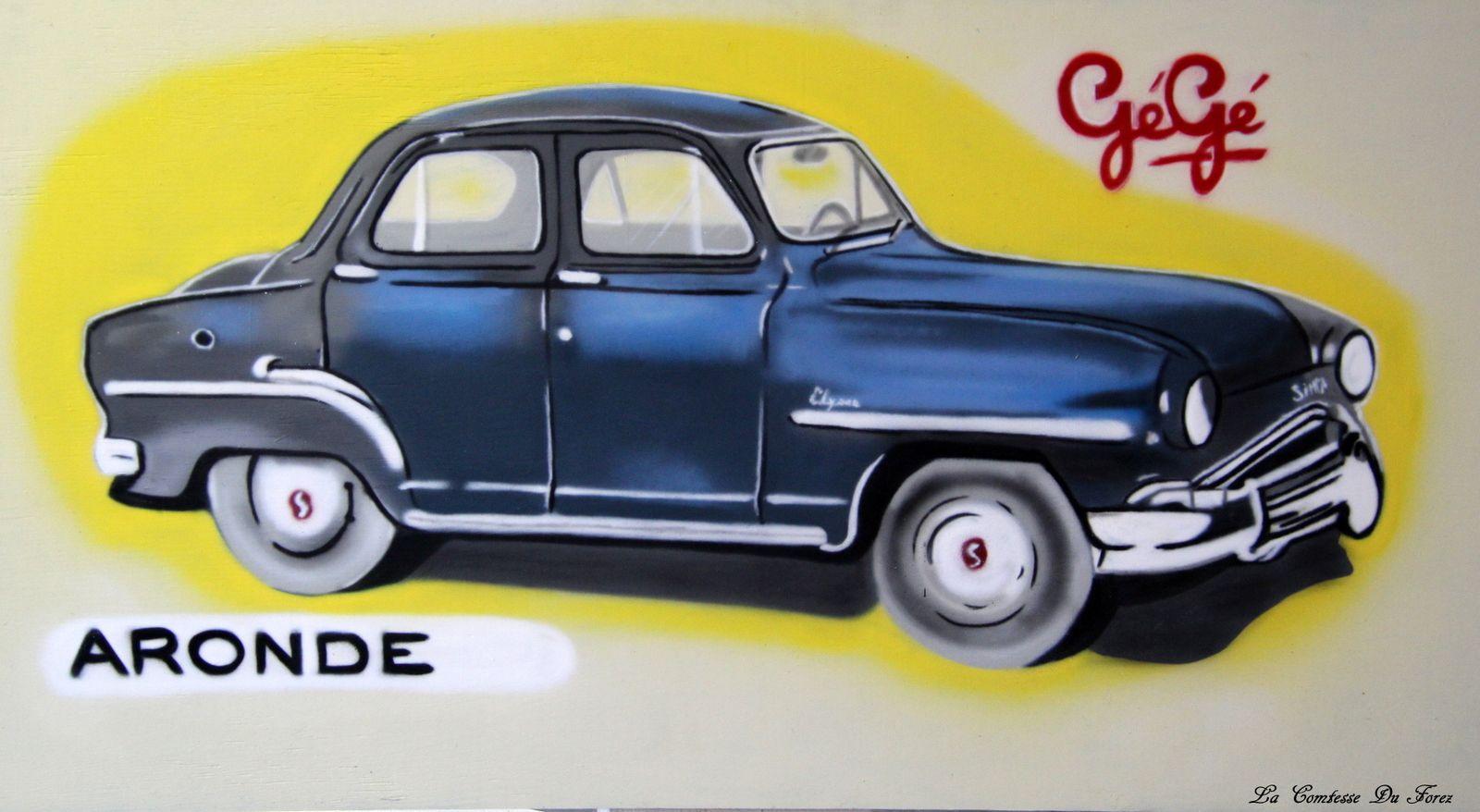 Forez Colors revisite l'Usine de jouets GéGé (42600, Montbrison)