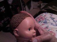 Tuto gratuit : Une perruque pour poupée.