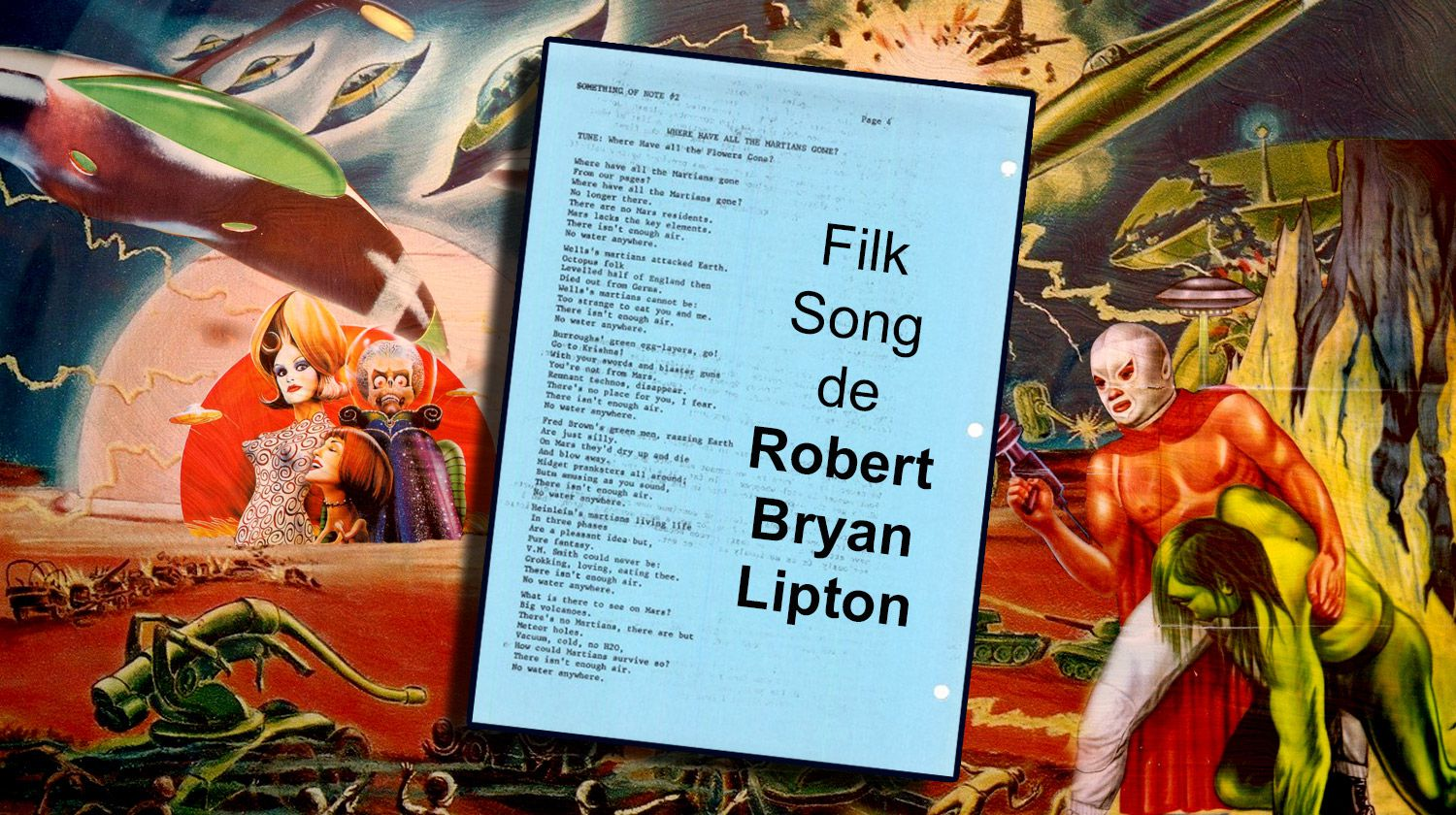 👽 ROBERT BRYAN LIPTON - WHERE HAVE ALL THE MARTIANS GONE ? (1979)