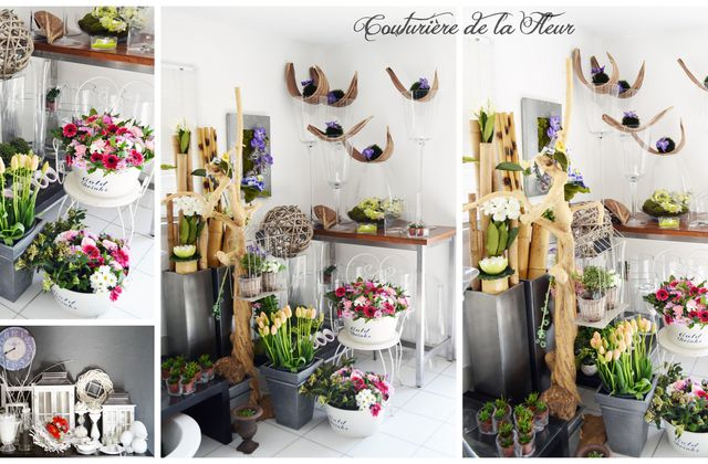 Le showroom de Couturière de la Fleur | Fleuriste Jacou