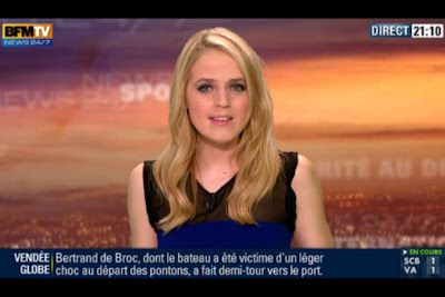 [2012 11 10] CLAIRE ARNOUX - BFM TV - WEEK-END 360 @21H00