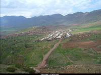 Vues du villagge nouveau de Dagdösü, prises par des militaires dans les années 2000
