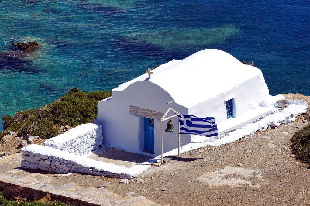 """Chapelle de Agia Anna - """"Le Grand Bleu"""""""