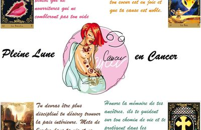 GUIDANCE PLEINE LUNE EN CANCER 30 DECEMBRE 2020