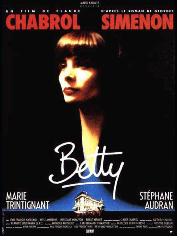 N'oublions jamais MARiE TRINTIGNANT ce soir (20h55) sur France 5 Betty de Claude Chabrol