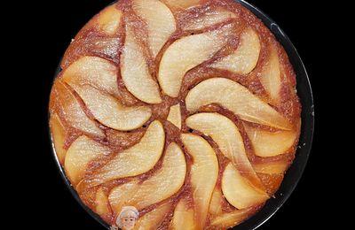 Gâteau Renversé Poires-Chocolat - Upside down cake