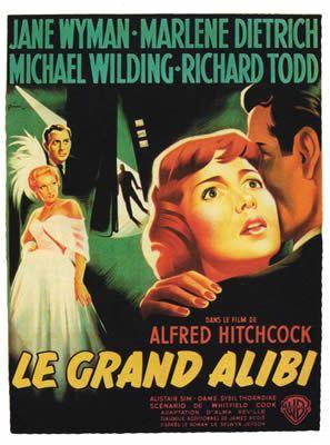 Le Grand Alibi d'Alfred Hitchcock
