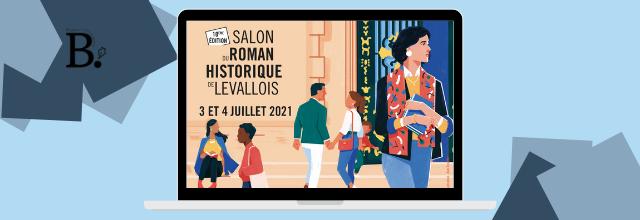 10e Salon du Roman Historique de Levallois | 3 & 4 juillet | Carole Martinez présidente