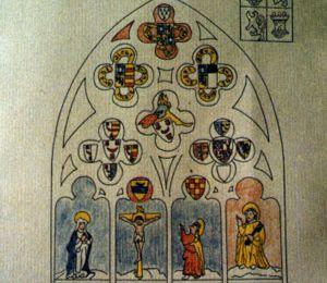 Plouneour-trez inventaire et travaux des vitraux de l'église de 1614 à 1946,