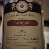Ardmore 18Y MoS 1992/2010 - Passion du Whisky
