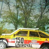 FASCICULE N°13 RENAULT 20 TURBO RALLYE PARIS DAKAR 1982 DES FRERES MARREAU - car-collector.net