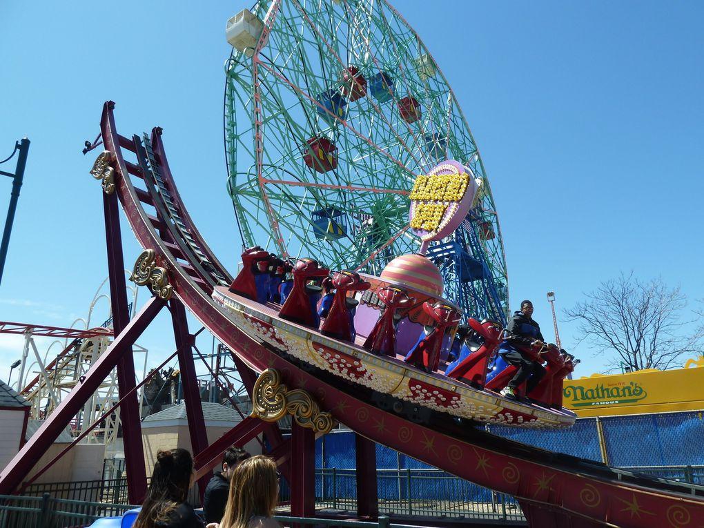 Luna Park de Coney Island.