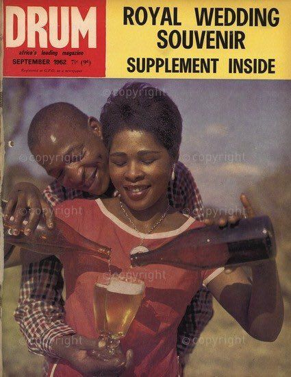 """The """"Drum"""" magazine, Mohammed Ali and young women photographed by James Barnor"""