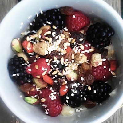Miam Ô fruits!    Miam con frutas!