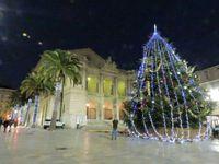Toulon, la crèche place de la Liberté